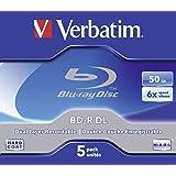 Verbatim 43748 BD-R DL 50GB 6X - 5 Pack Jewel Case