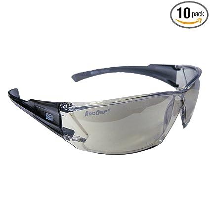Amazon.com: arcone anteojos de protección con lente de marco ...