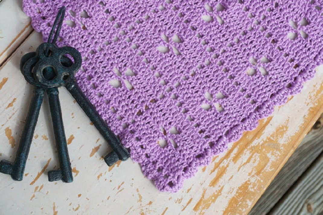 Midwife Pattern Hand-Crocheted Baby Blanket