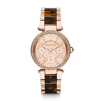 Michael Kors Reloj analogico para Mujer de Cuarzo con Correa en Acero Inoxidable MK5841: Amazon.es: Relojes