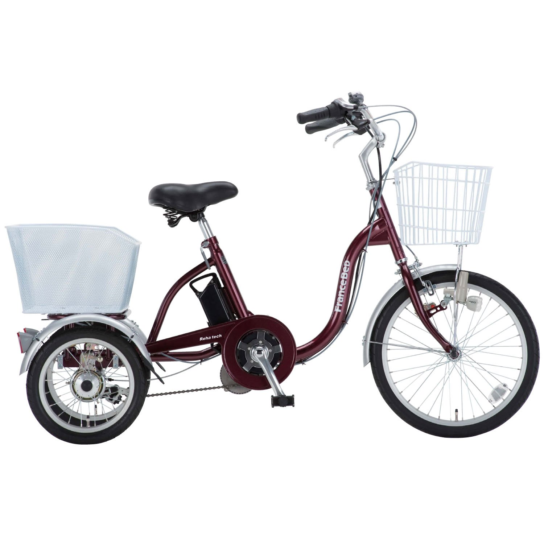 FRANCEBED(フランスベッド) リハテック 電動アシスト三輪自転車 ASU-3W01 B00F2AF2RY