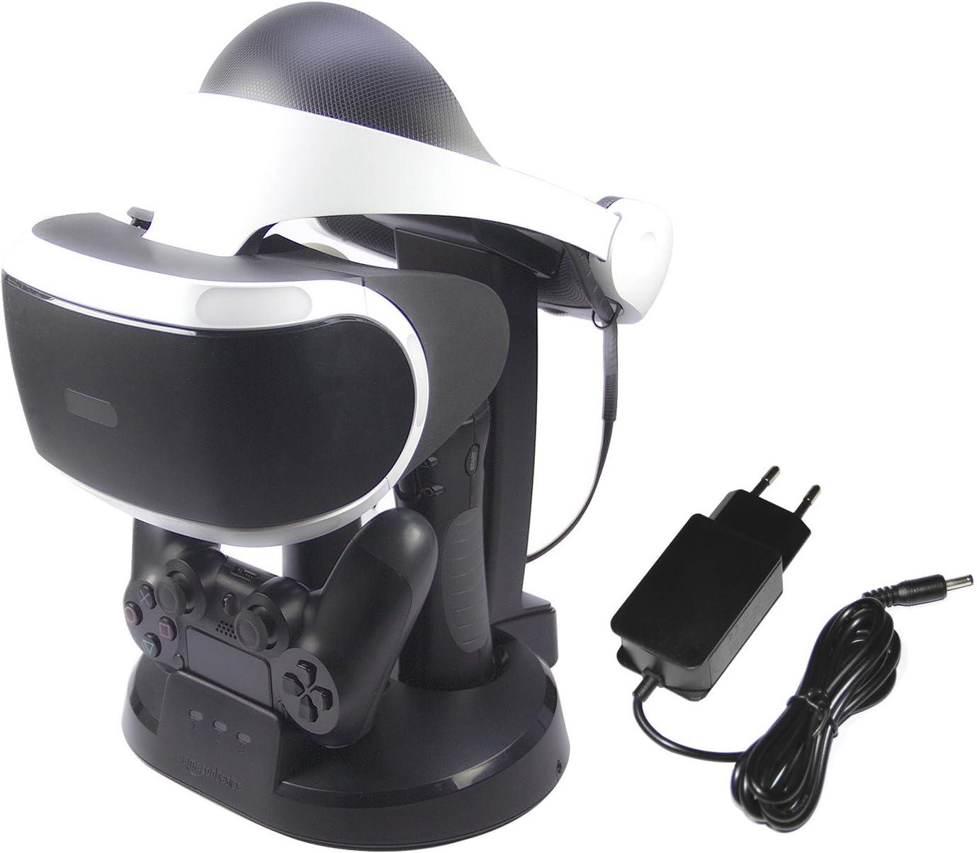 AmazonBasics - Estación de carga y expositor para PlayStation VR ...
