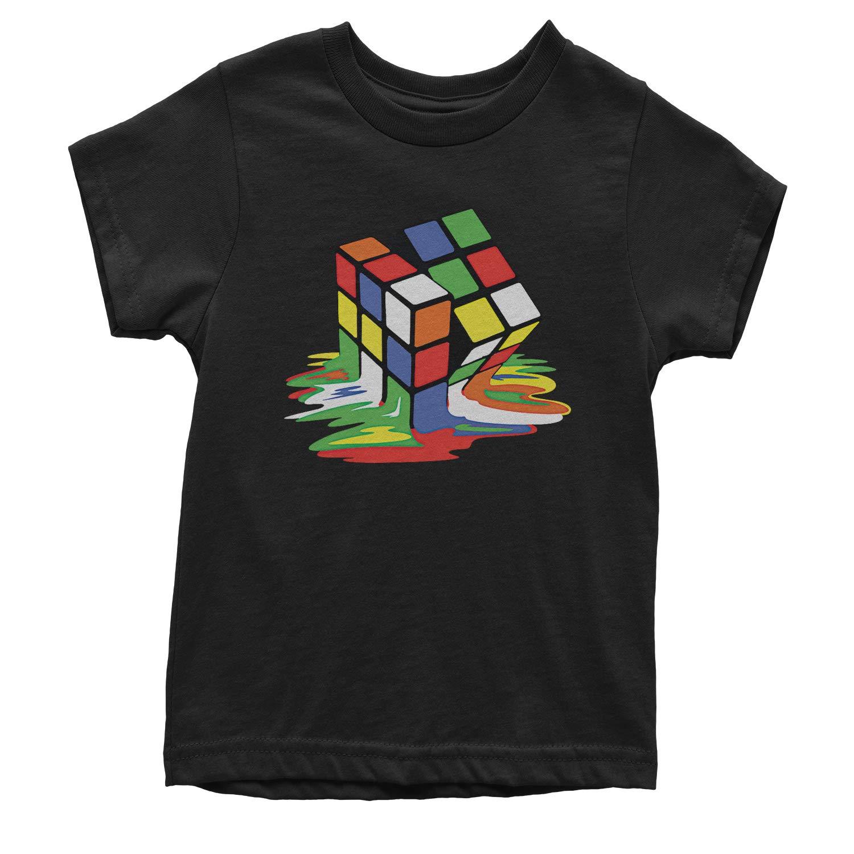 Expression Tees Melting Rubiks Cube Youth T-Shirt