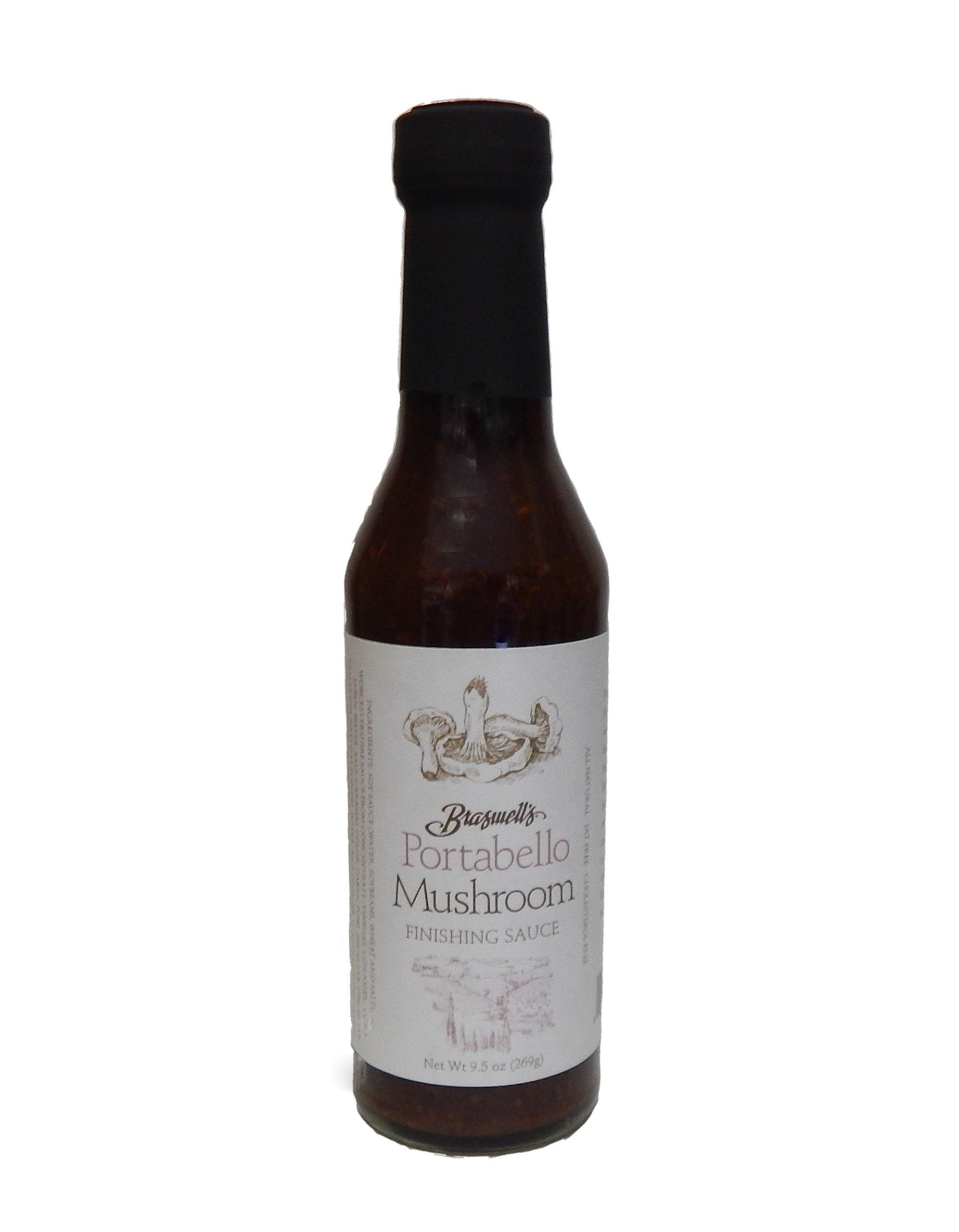 Braswells Portabello Mushroom Finishing Sauce 9.5 Ounce