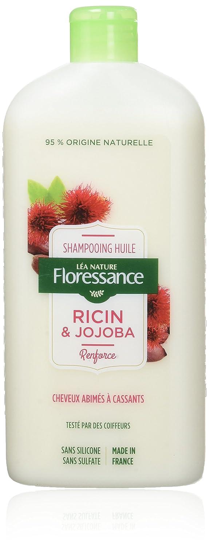 Floressance par nature Shampooing Huile de Ricin/Jojoba 500 ml - Lot de 2 3517360012538