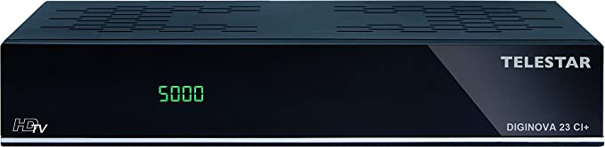 Telestar DIGINOVA 23 Ci+ TV Set-Top Boxes - Reproductor/sintonizador
