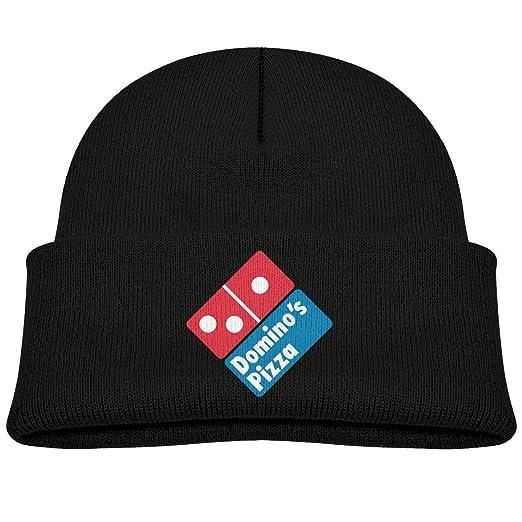 dbe72b01 Amazon.com: Adjustable Kids Dominos Pizza Casual Skull Beanie Hats ...