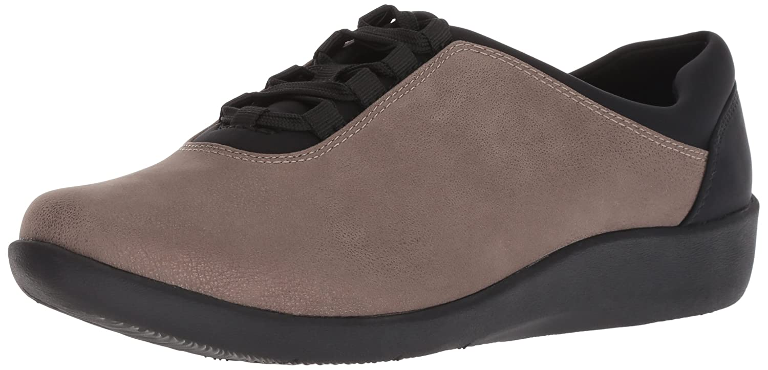 Clarks Woherren Sillian Sillian Sillian Pine Turnschuhe, Pewter Metallic Synthetic, 050 M US 26aac6