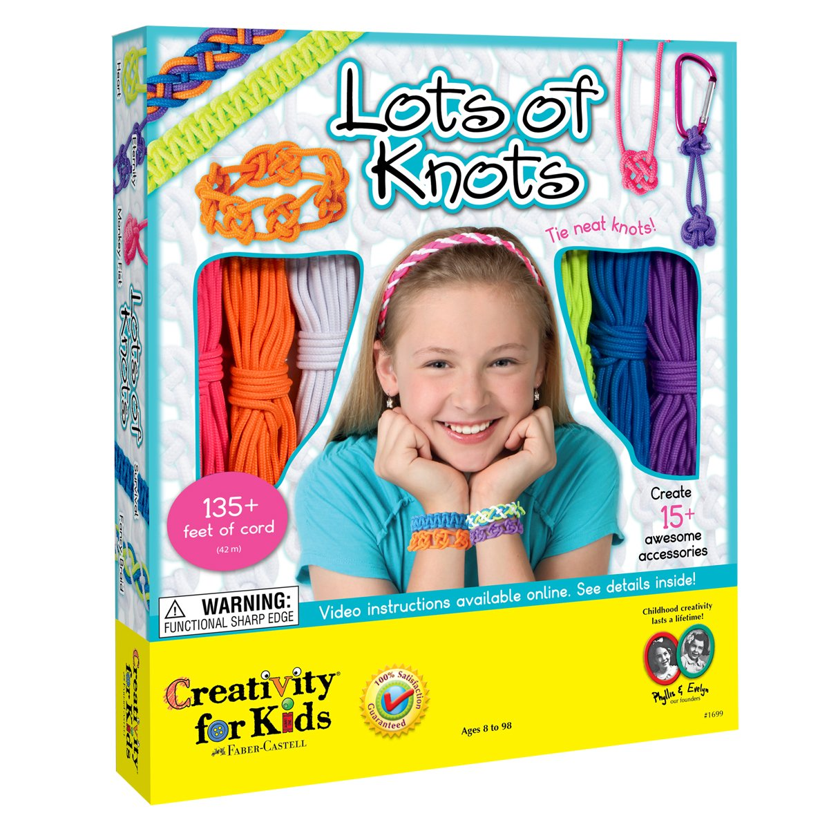 Creativity for Kids Lots of Knots Faber Castell 1699000