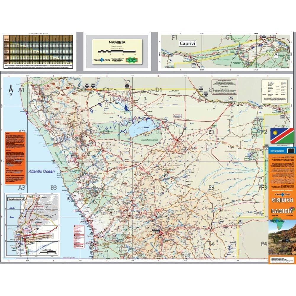 Namibia: Amazon.co.uk: Tracks4Africa: 9780992183028: Books