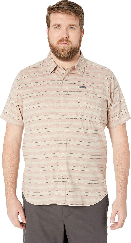 Columbia Mens Shoals Point Short Sleeve Shirt