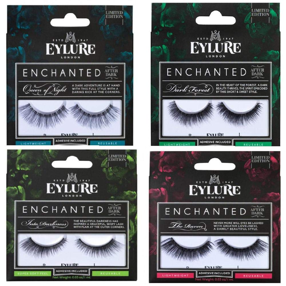 c7ff2066fe9 Eylure Enchanted After Dark Lashes Bring on the Light: Amazon.co.uk: Beauty