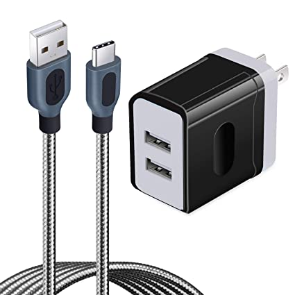 Amazon.com: Eversame - Cargador de pared USB para Samsung ...