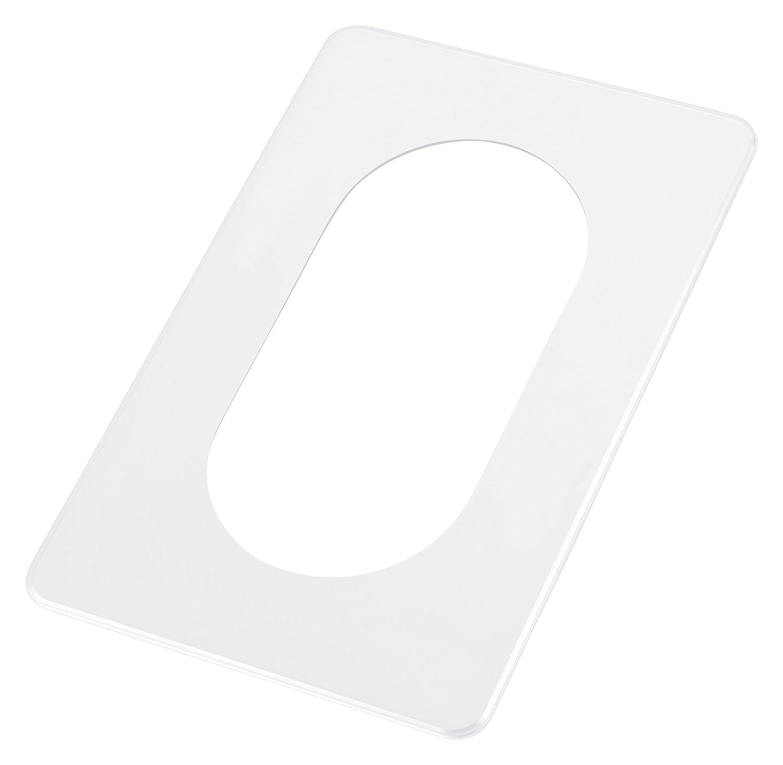 + 5er Pack RuS Kindersicherung f/ür Steckdose pekarek/® Spar-Set : Schutz // Dekor Platte Transparent 5 St/ück 2 fach