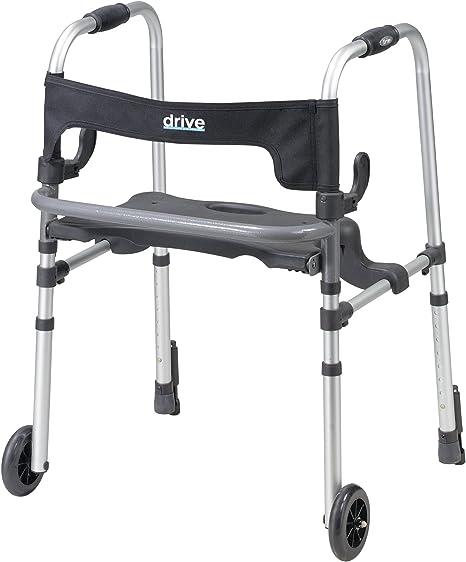 Amazon.com: Clever-Lite Ls - Andador con ruedas, 10233, Gris ...