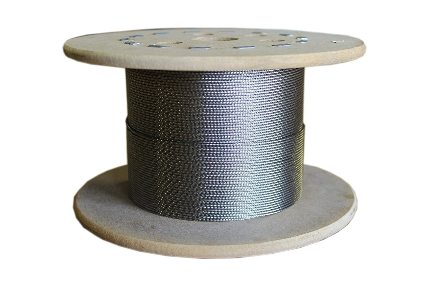 wire rope 1/4'' X 250', 7x19,Galvanized Cable Reel 7 by 19 Construction, Trade Size 1/4 by 250 Feet