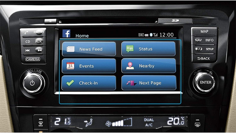 Lfotpp Nissan X Trail T32 7 Zoll Navigation Schutzfolie 9h Kratzfest Anti Fingerprint Panzerglas Displayschutzfolie Gps Navi Folie Navigation