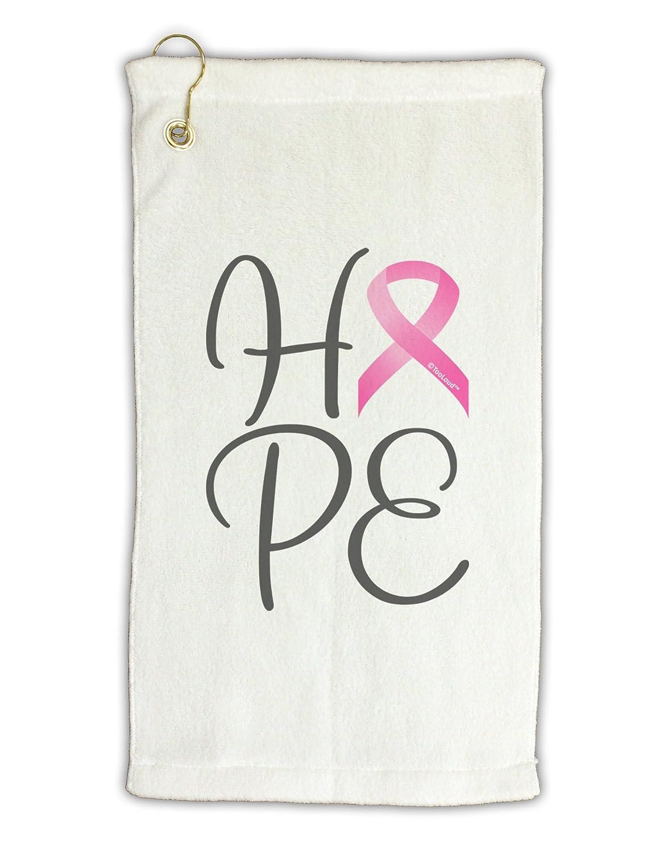 TooLoud Hope – Breast Cancer AwarenessリボンMicro Terry Grometゴルフタオル11