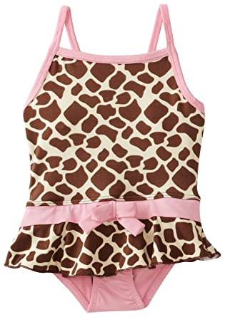 323bac36e33c4 Amazon.com: Pink Platinum Baby Girls' Giraffe 1 Piece Swimsuit: Infant And  Toddler One Piece Swimsuits: Clothing