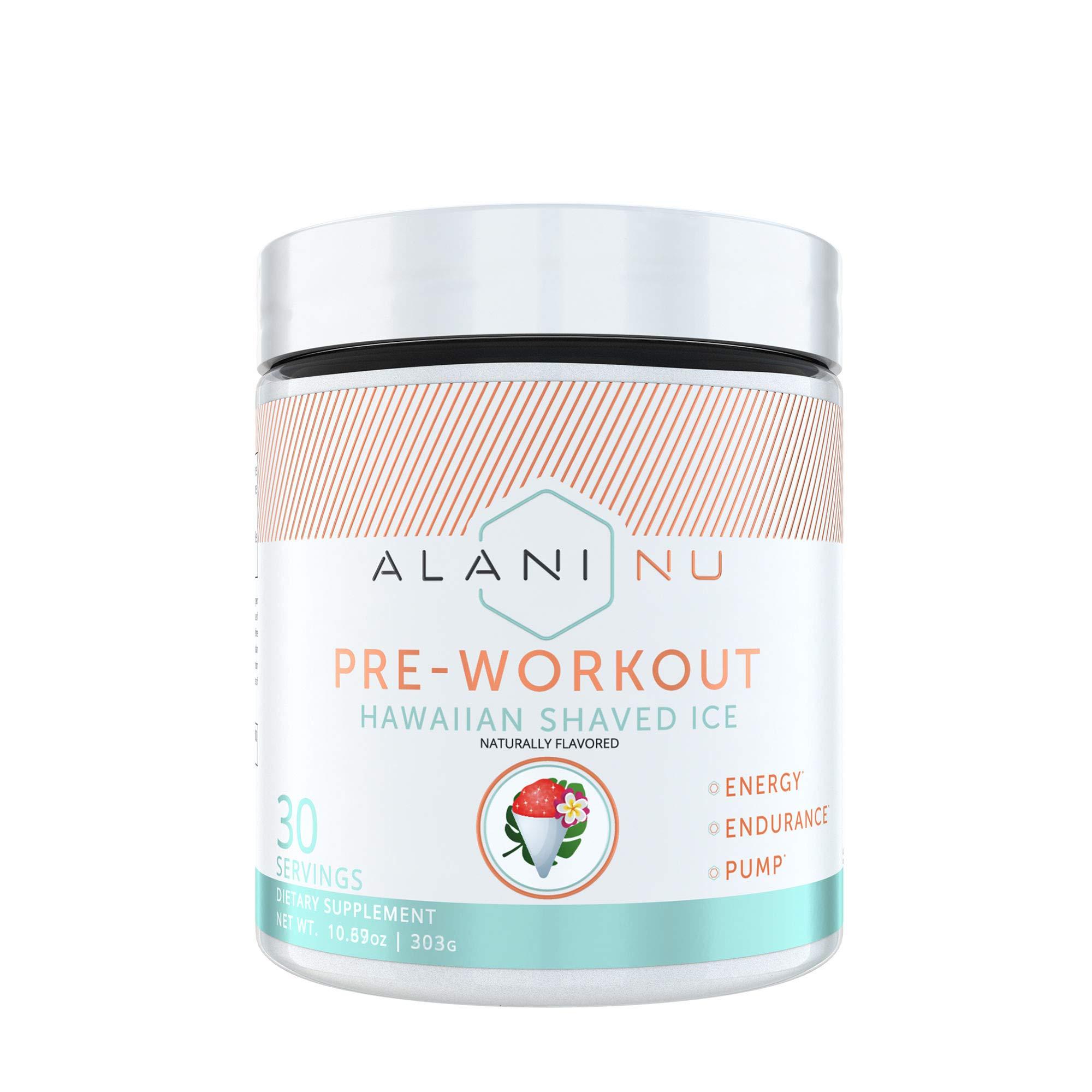 Alani Nu Pre-Workout - Hawaiian Shaved Ice by Alani Nu