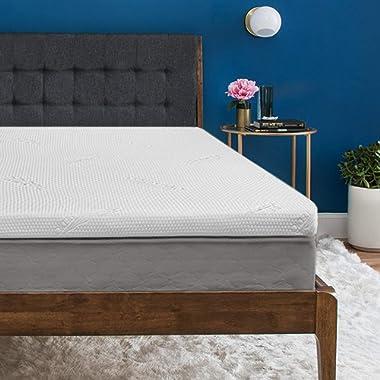 Tempur-Pedic TEMPUR Supreme 3-Inch Premium Foam Mattress Topper, Adaptable Personalized Comfort, Pressure Relieving, Assembled in the USA, 25 Year Warranty, Queen