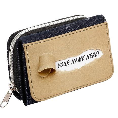 Nombre de Secret personalizado Carta st058 Mujer Denim Bolso Niñas Cartera de regalo * * Añade