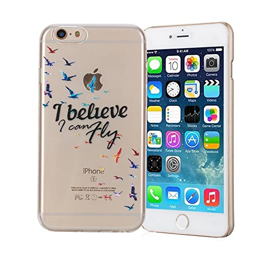 66 opinioni per Cover iPhone 6/6S Silingsan Cover in Silicone TPU per iPhone 6/6S Custodia