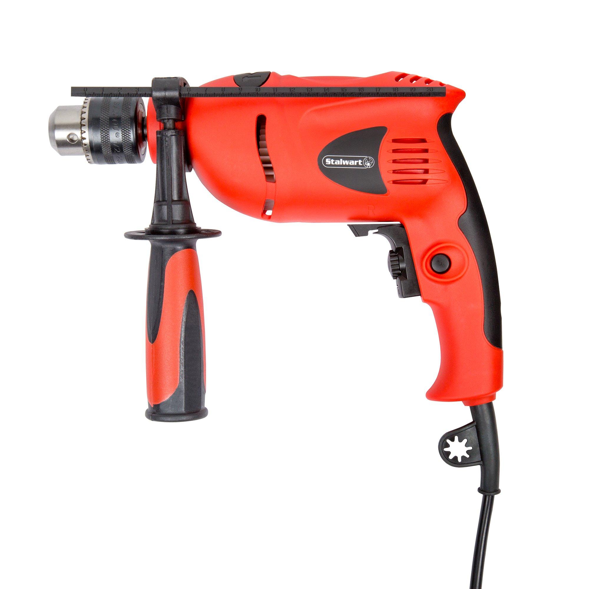 Stalwart 75-3990A 5.0 Amp 120V Hammer Drill, 1/2''