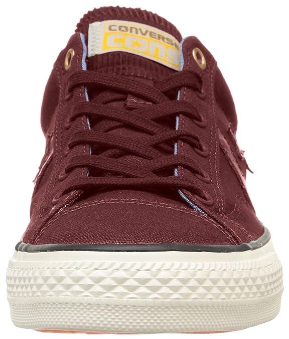 Converse SP Workwear Ox - Zapatillas Bajas Unisex, Color Rojo (Bordeaux), Talla 37