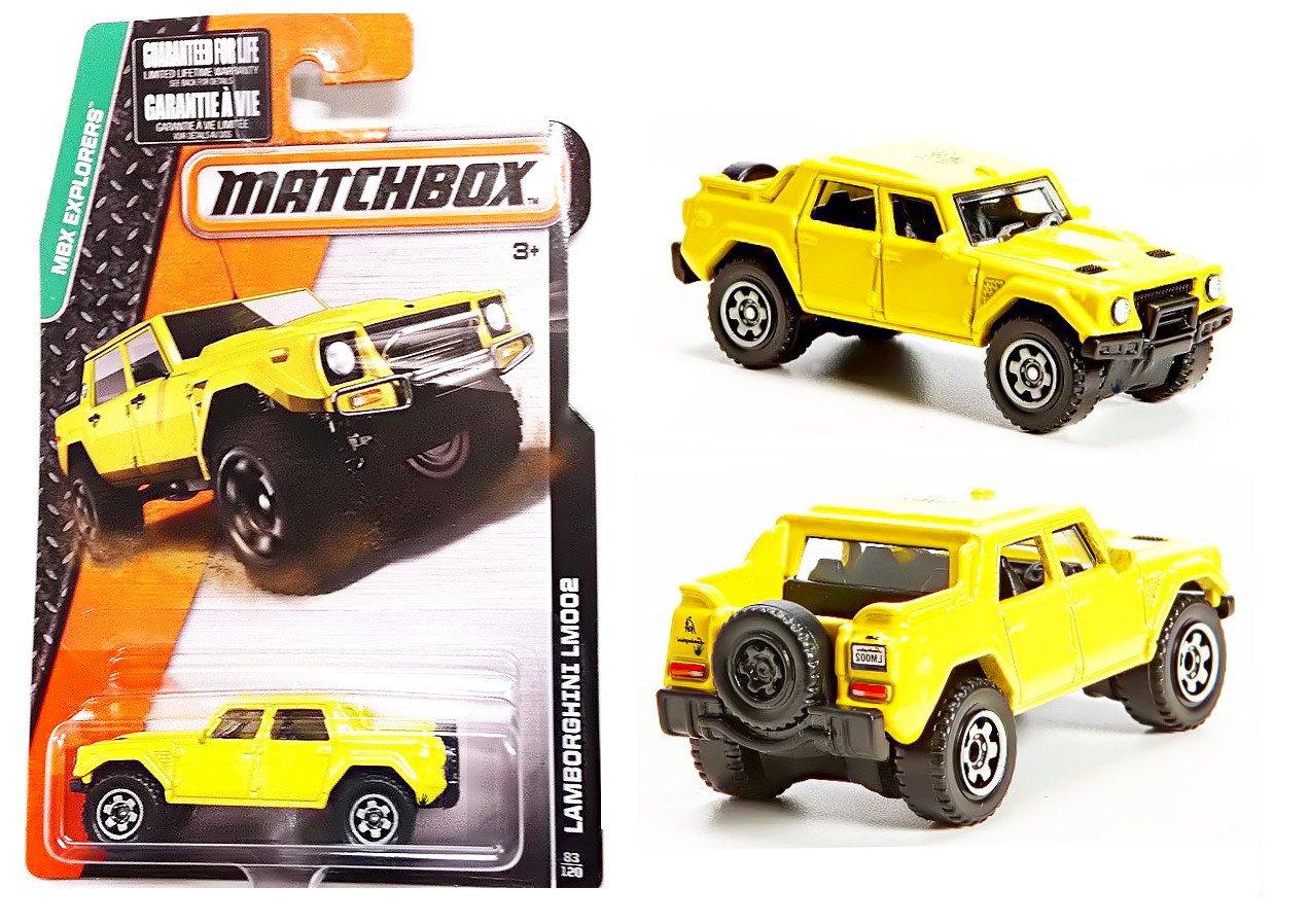 Buy 2015 Matchbox Mbx Explorers Lamborghini Lm002 Yellow Online