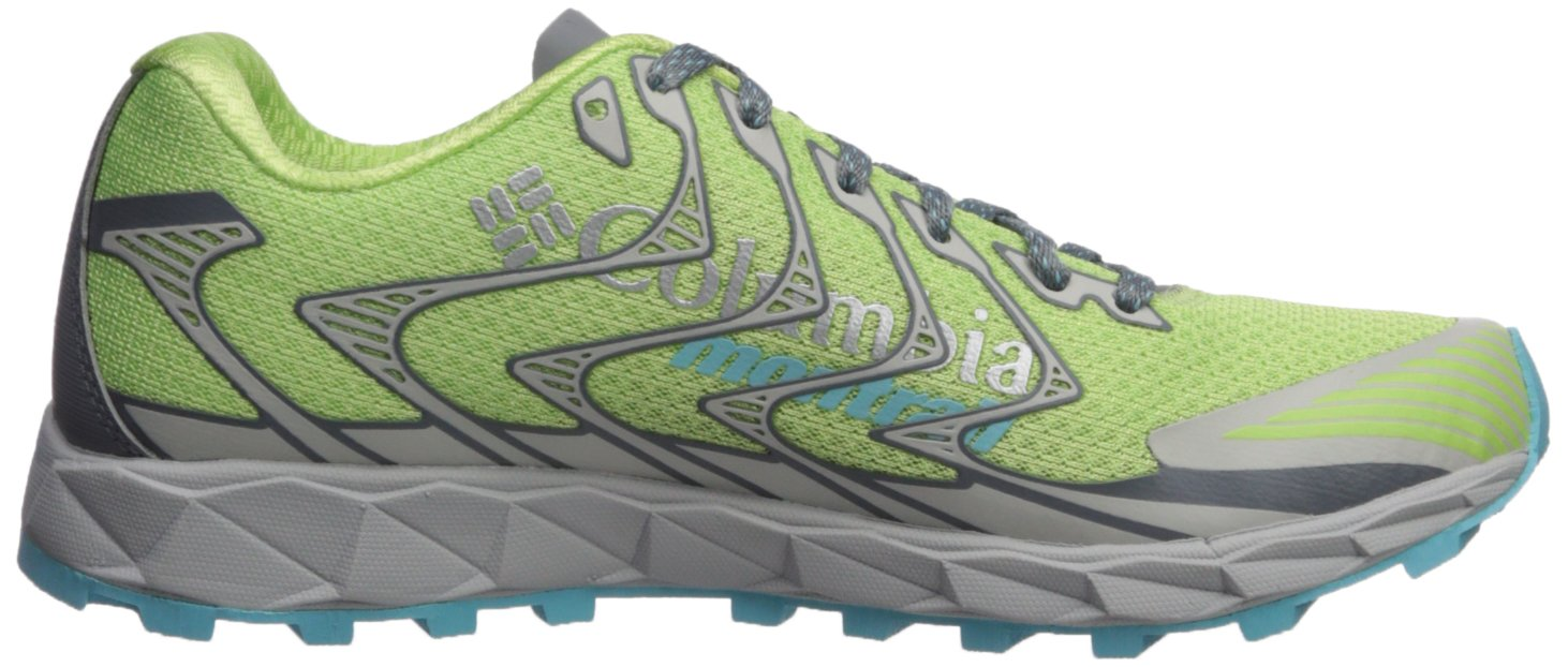 Columbia Montrail Women's Rogue F.K.T. II Trail Running Shoe B072WK6WSS 8 B(M) US|Jade Lime, Coastal Blue
