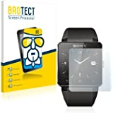 BROTECT AirGlass Protection Verre Flexible pour Sony Smartwatch 2 Film Vitre Protection Ecran Transparence - Extra Résistant, Ultra-Léger, Clair
