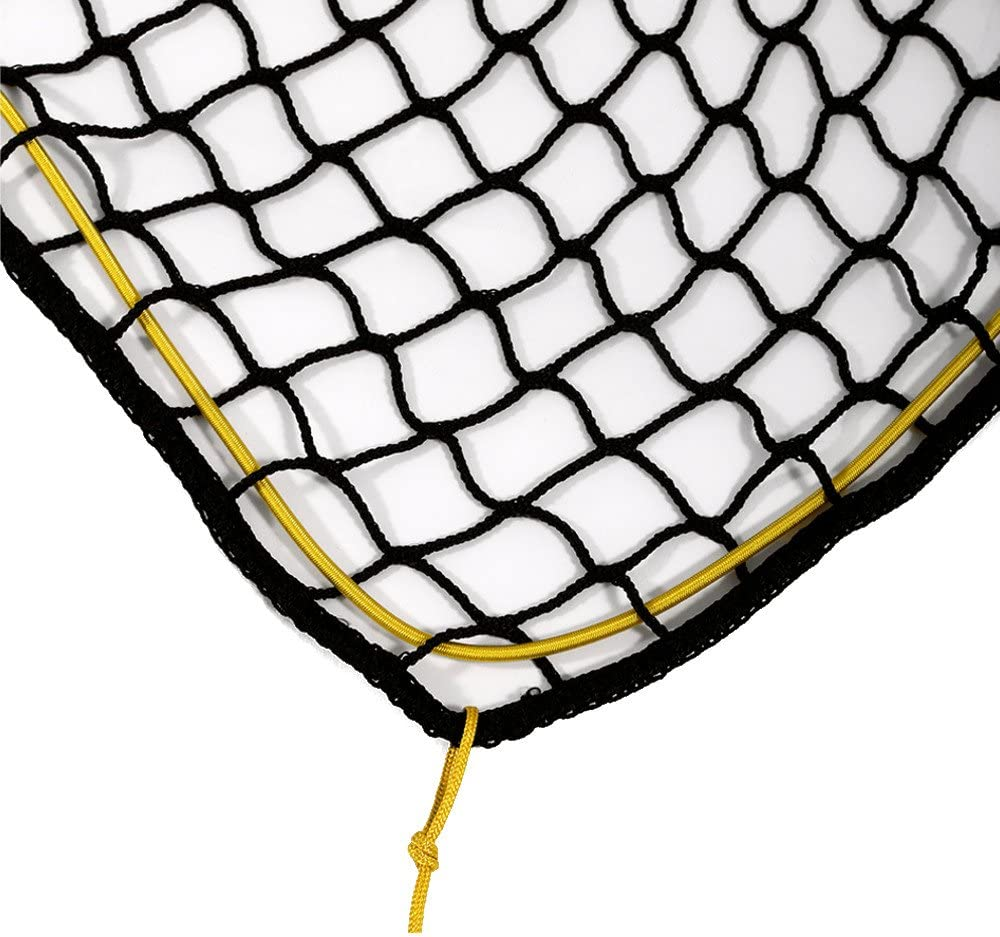 2m x 3m Anh/ängernetz knotenlos m Expanderseil Abdecknetz zur Ladungssicherung