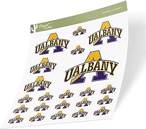 University at Albany UALBANY Great Danes SUNY NCAA Sticker Vinyl Decal Laptop Water Bottle Car Scrapbook (Sheet Type 3-1)