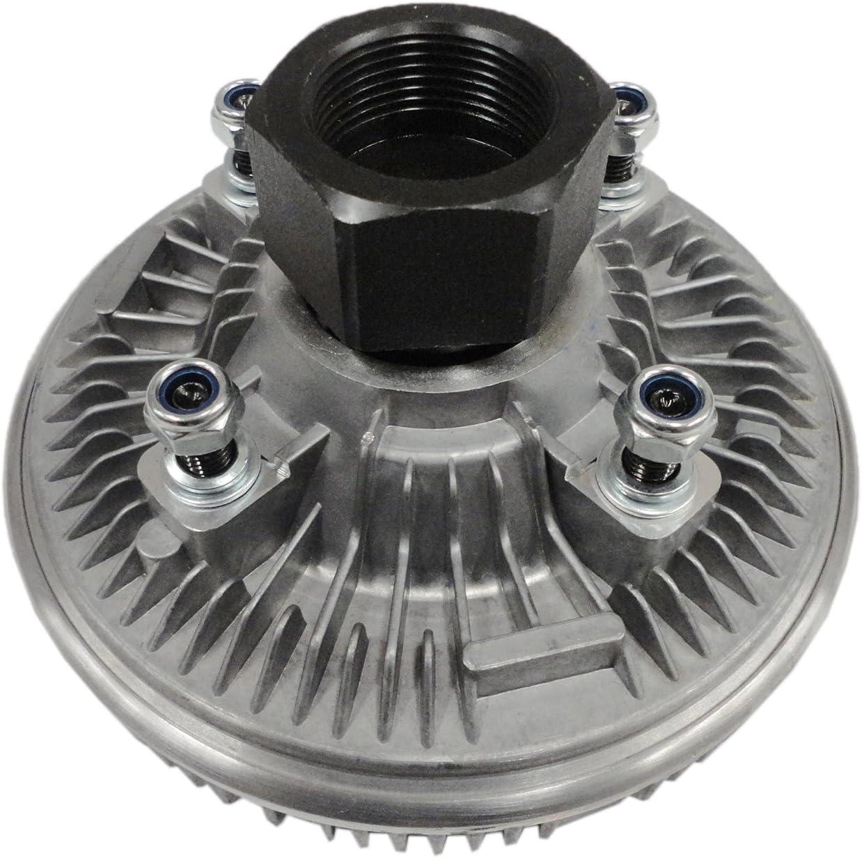 TOPAZ 2843 Engine Cooling Thermal Fan Clutch for 01-09 Chevrolet Express 2500 3500 GMC Savana 2500 3500 6.6L V8