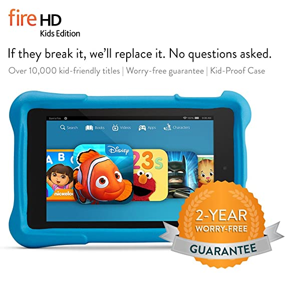 Fire HD 6 Kids Edition Tablet, 6