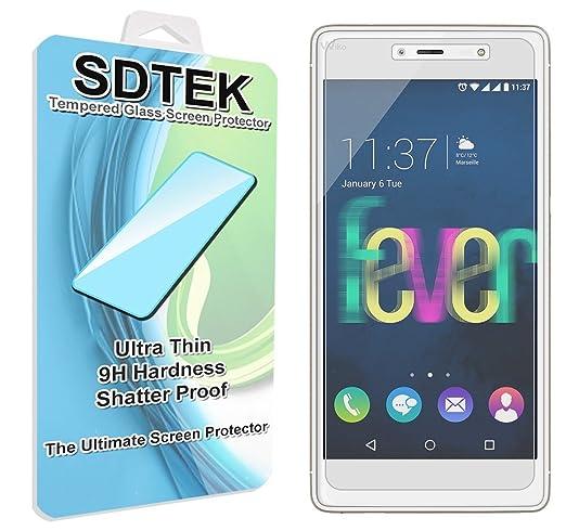 88 opinioni per SDTEK Wiko Fever 4G Vetro Temperato Pellicola Protettiva Protezione Protettore
