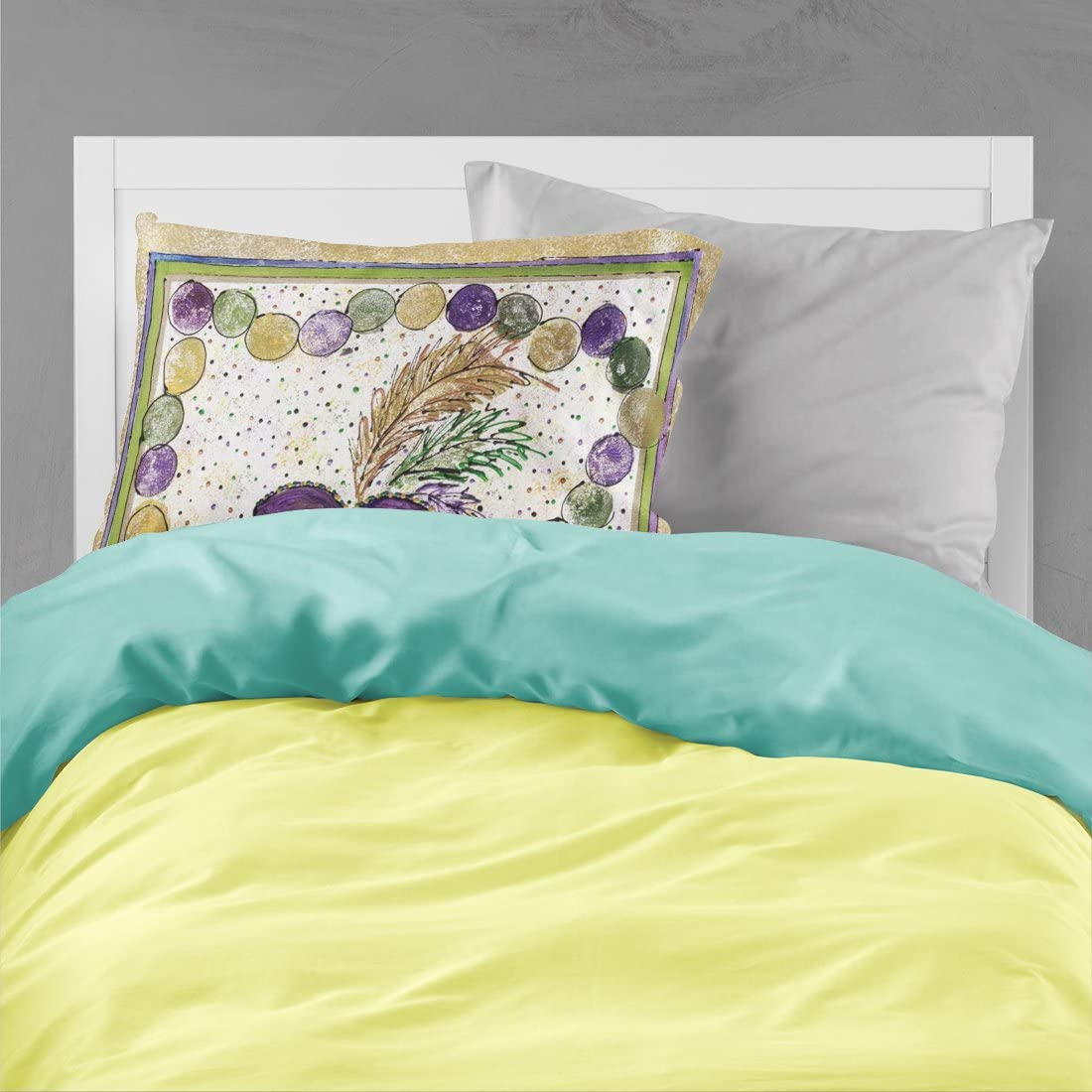 Multicolor Caroline/'s Treasures 8851PILLOWCASE Bee on Yellow Moisture Wicking Fabric Standard Pillowcase Standard Carolines Treasures 8851PILLOWCASE Bee on Yellow Moisture Wicking Fabric Standard Pillowcase
