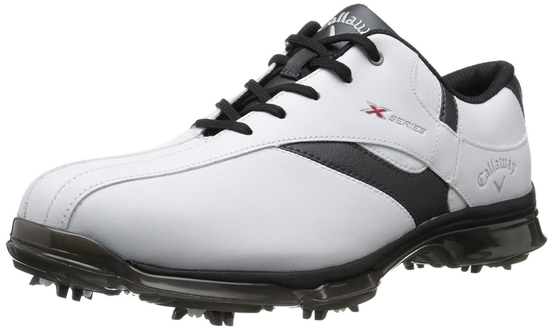 [キャロウェイ] FootwearメンズX Nitro Golf Shoe 10 D(M) US ホワイト/ブラック B00F2P9SJW