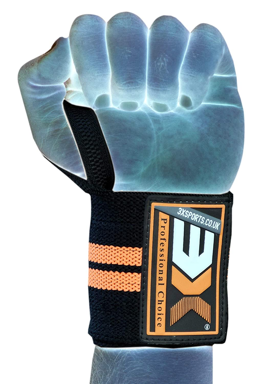 3 x Tobillera Deportiva Tobillera Protección para tobillo Kickboxing UFC Tobilleras MMA (Negro, L / XL) 3x sports
