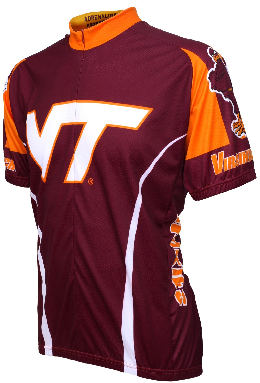 Adrenaline Promotions NCAA Virginia Tech Hokies Radfahren Jersey
