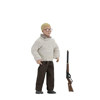 NECA A Christmas Story Ralphie 8-inch Clothed Action Figure: Toys & Games