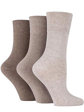 3 Pairs IOMI Footnurse SockShop Diabetic Gentle Grip Socks 4-8 uk 37-42 Eur