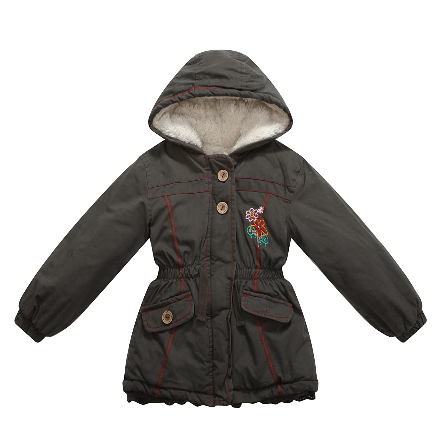 Richie House Little Girls Cotton Padded Jacket Rh0828