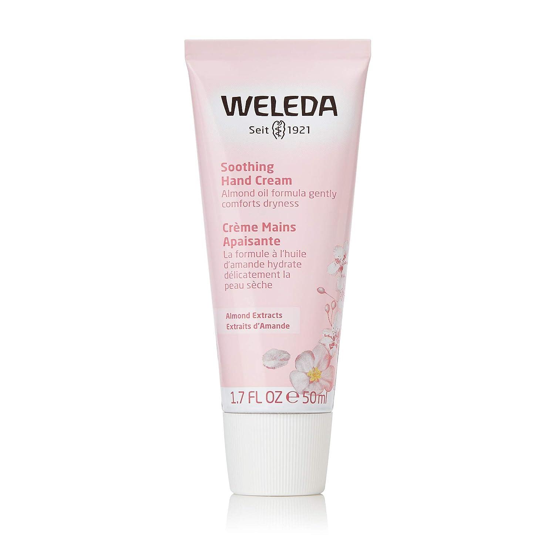 Weleda Soothing Sensitive Skin Almond Hand Cream, 1.7 Ounce