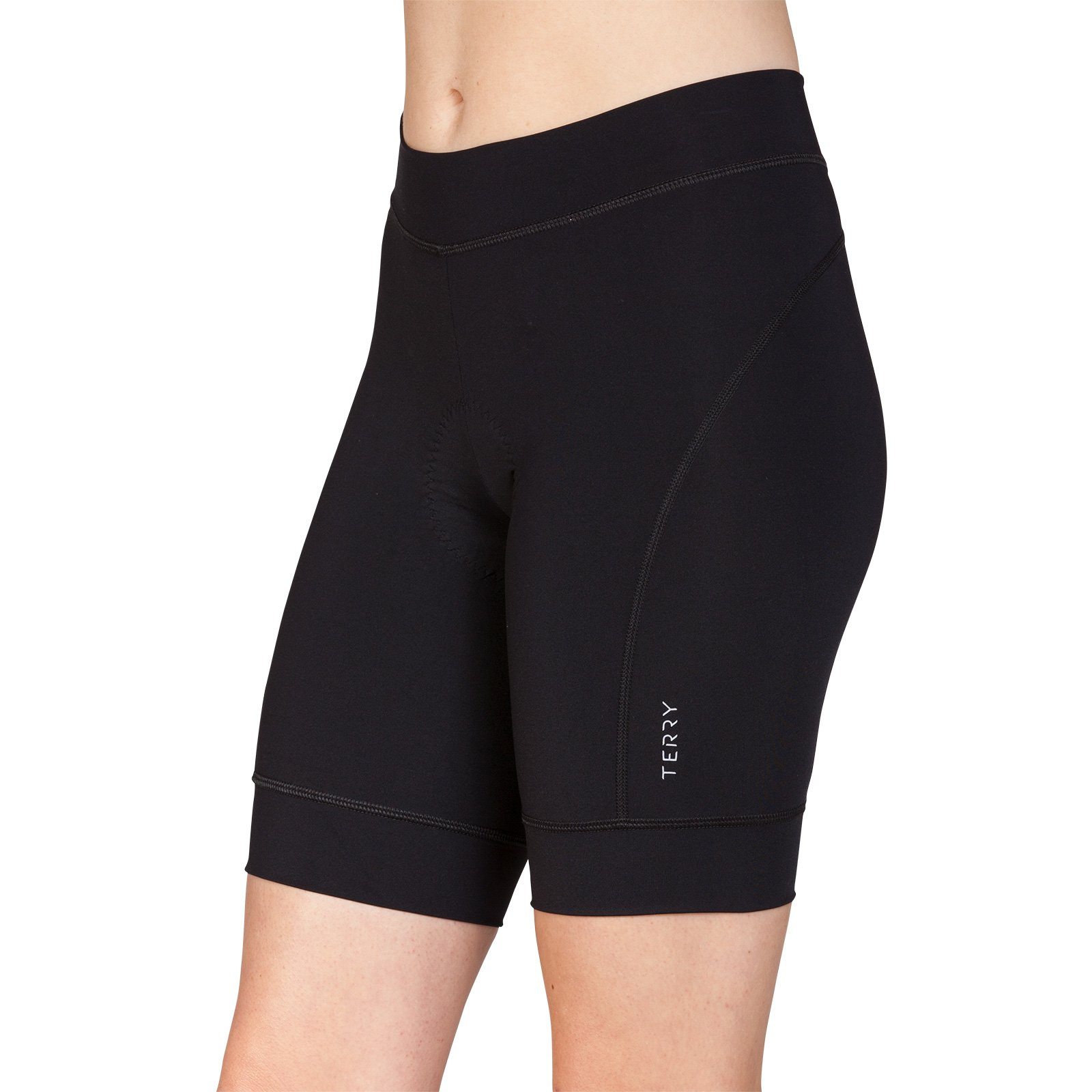 Terry Highly Rated Breakaway Performance Cycling Shorts for Women - Bicycling Magazine Editor's Choice– Black – Small