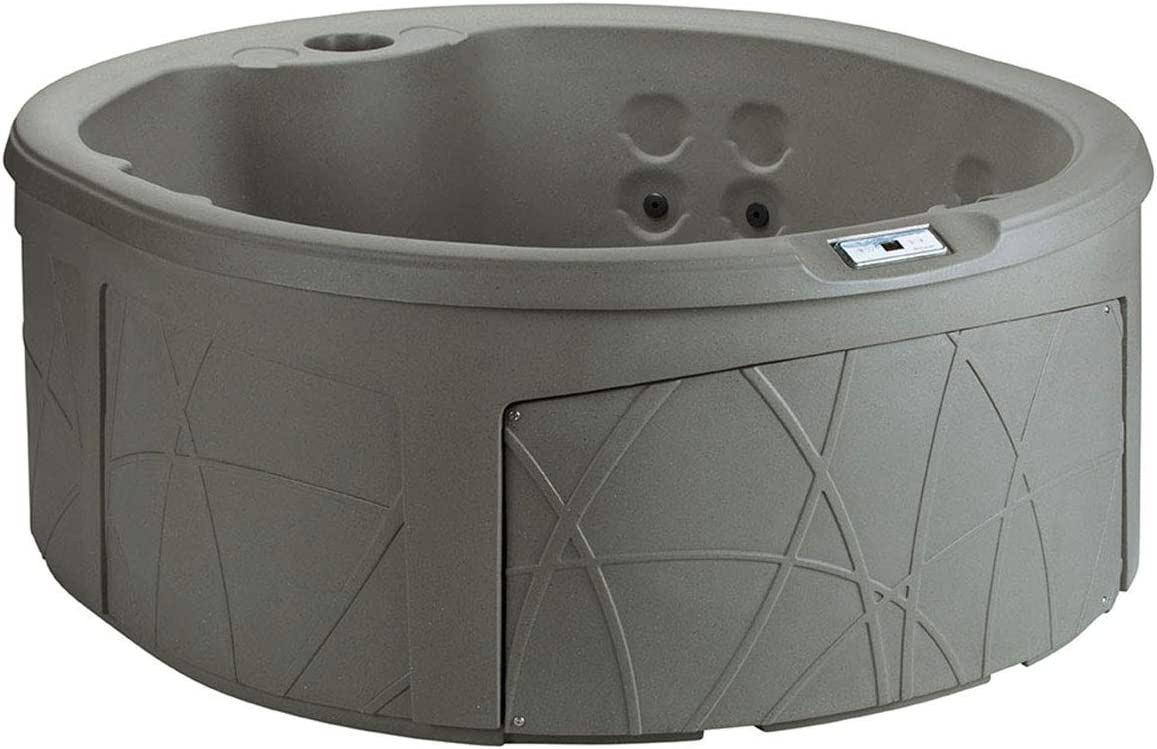 3. LifeSmart LS200-T 4-Person Round 110V Hot Tub