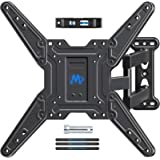 Mounting Dream TV Wall Mount Bracket for Most of 26-55 Inch LED, LCD, OLED and Plasma Flat Screen TV with Full Motion Swivel