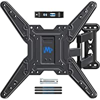 Mounting Dream Full Motion TV Wall Mounts Bracket with Perfect Center Design for 26-55 Inch LED, LCD, OLED Flat Screen…