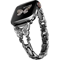 Wipalor Compatible with Apple Watch Band 38mm 40mm, Lightweight for Women, Easy… photo